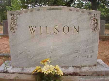 WILSON, JR, BEN F - Columbia County, Arkansas | BEN F WILSON, JR - Arkansas Gravestone Photos