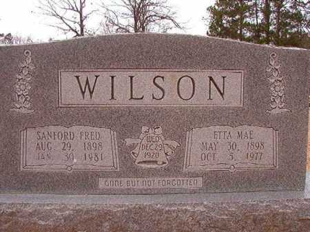 WILSON, SANFORD FRED - Columbia County, Arkansas | SANFORD FRED WILSON - Arkansas Gravestone Photos