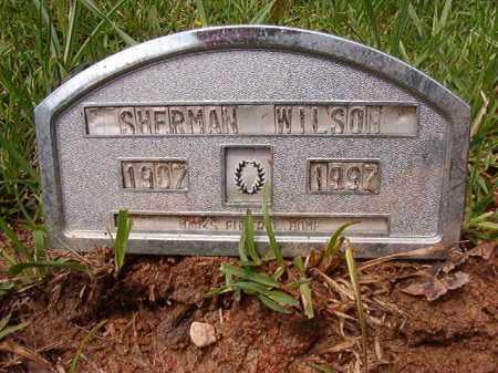 WILSON, SHERMAN - Columbia County, Arkansas | SHERMAN WILSON - Arkansas Gravestone Photos