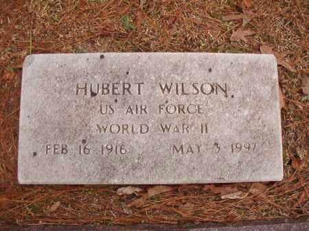 WILSON (VETERAN WWII), HUBERT - Columbia County, Arkansas | HUBERT WILSON (VETERAN WWII) - Arkansas Gravestone Photos
