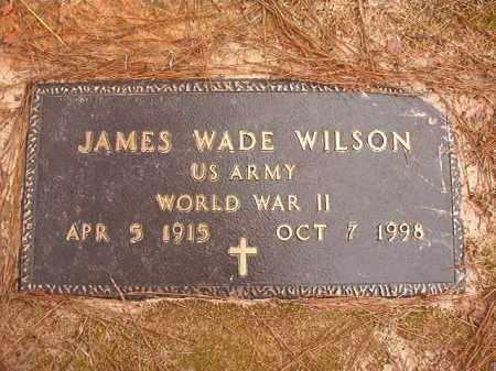 WILSON (VETERAN WWII), JAMES WADE - Columbia County, Arkansas | JAMES WADE WILSON (VETERAN WWII) - Arkansas Gravestone Photos