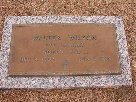 WILSON (VETERAN WWII), WALTER - Columbia County, Arkansas | WALTER WILSON (VETERAN WWII) - Arkansas Gravestone Photos