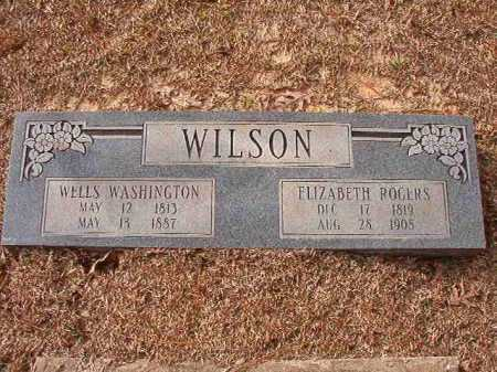 WILSON, WELLS WASHINGTON - Columbia County, Arkansas | WELLS WASHINGTON WILSON - Arkansas Gravestone Photos