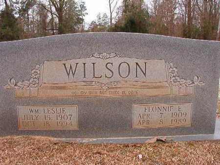 WILSON, FLONNIE E - Columbia County, Arkansas | FLONNIE E WILSON - Arkansas Gravestone Photos