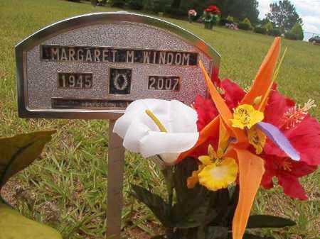 WINDOM, MARGARET M - Columbia County, Arkansas | MARGARET M WINDOM - Arkansas Gravestone Photos
