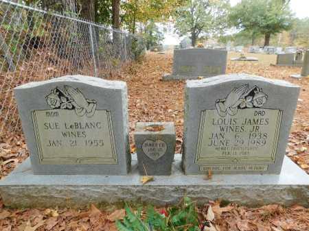 WINES, JR, LOUIS JAMES - Columbia County, Arkansas   LOUIS JAMES WINES, JR - Arkansas Gravestone Photos