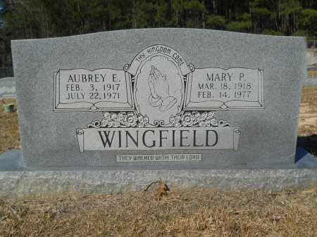 WINGFIELD, MARY P - Columbia County, Arkansas | MARY P WINGFIELD - Arkansas Gravestone Photos