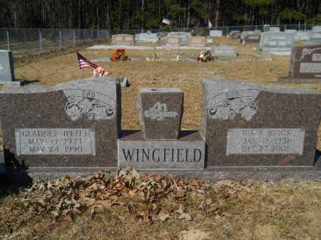 "WINGFIELD, GLADNEY ""PETE"" - Columbia County, Arkansas 