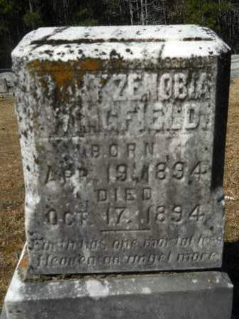 WINGFIELD, MARY ZENOBIA - Columbia County, Arkansas | MARY ZENOBIA WINGFIELD - Arkansas Gravestone Photos
