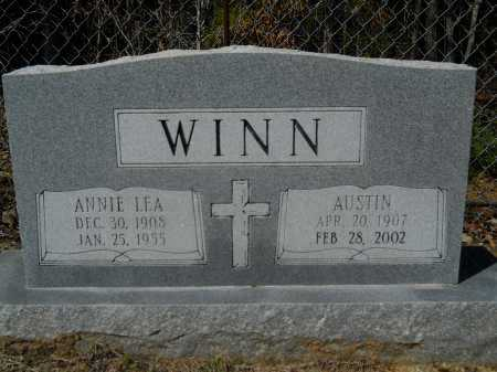 WINN, ANNIE LEA - Columbia County, Arkansas | ANNIE LEA WINN - Arkansas Gravestone Photos