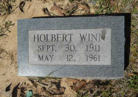 WINN, HOLBERT - Columbia County, Arkansas | HOLBERT WINN - Arkansas Gravestone Photos