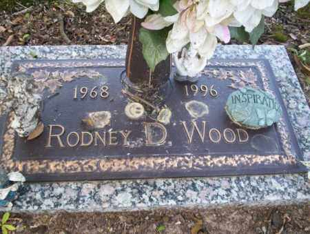 WOOD, RODNEY D - Columbia County, Arkansas | RODNEY D WOOD - Arkansas Gravestone Photos