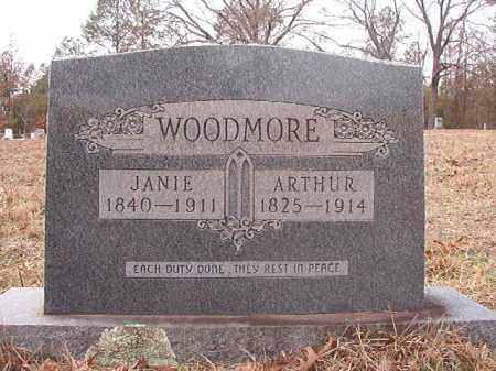 WOODMORE, JANIE - Columbia County, Arkansas | JANIE WOODMORE - Arkansas Gravestone Photos