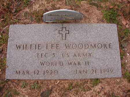 WOODMORE (VETERAN WWII), WILLIE LEE - Columbia County, Arkansas | WILLIE LEE WOODMORE (VETERAN WWII) - Arkansas Gravestone Photos