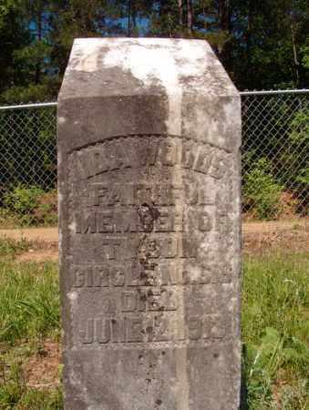 WOODS, IDA - Columbia County, Arkansas | IDA WOODS - Arkansas Gravestone Photos