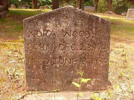 WOODS, NORA - Columbia County, Arkansas | NORA WOODS - Arkansas Gravestone Photos