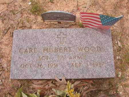 WOODS (VETERAN), CARL HUBERT - Columbia County, Arkansas | CARL HUBERT WOODS (VETERAN) - Arkansas Gravestone Photos