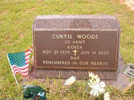 WOODS (VETERAN KOR), CURTIS - Columbia County, Arkansas | CURTIS WOODS (VETERAN KOR) - Arkansas Gravestone Photos