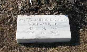 WOODWARD, JR, WALTER ASHTON GALLOWAY - Columbia County, Arkansas | WALTER ASHTON GALLOWAY WOODWARD, JR - Arkansas Gravestone Photos
