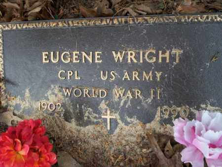 WRIGHT (VETERAN WWII), EUGENE - Columbia County, Arkansas | EUGENE WRIGHT (VETERAN WWII) - Arkansas Gravestone Photos