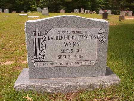 BUFFINGTON WYNN, KATHERINE - Columbia County, Arkansas | KATHERINE BUFFINGTON WYNN - Arkansas Gravestone Photos
