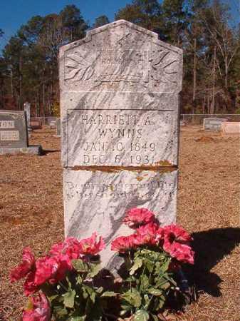 WYNNS, HARRIETT A - Columbia County, Arkansas | HARRIETT A WYNNS - Arkansas Gravestone Photos