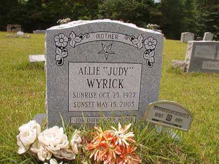 "WYRICK, ALLIE ""JUDY"" - Columbia County, Arkansas 