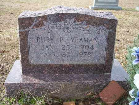 YEAMAN, RUBY P - Columbia County, Arkansas | RUBY P YEAMAN - Arkansas Gravestone Photos