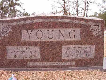 YOUNG, AUBREY - Columbia County, Arkansas | AUBREY YOUNG - Arkansas Gravestone Photos