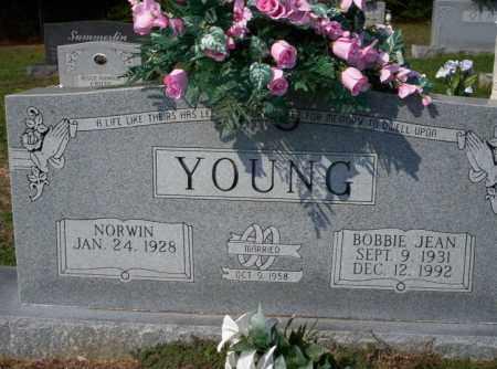 YOUNG, BOBBIE JEAN - Columbia County, Arkansas | BOBBIE JEAN YOUNG - Arkansas Gravestone Photos