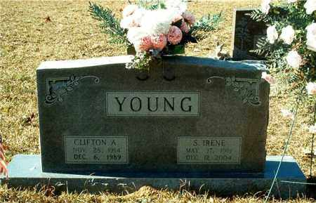 YOUNG, S. IRENE - Columbia County, Arkansas | S. IRENE YOUNG - Arkansas Gravestone Photos