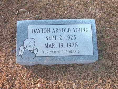 YOUNG, DAYTON ARNOLD - Columbia County, Arkansas | DAYTON ARNOLD YOUNG - Arkansas Gravestone Photos