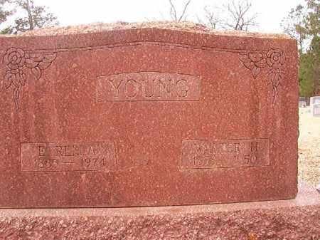 YOUNG, E RELLA - Columbia County, Arkansas | E RELLA YOUNG - Arkansas Gravestone Photos