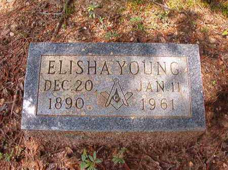 YOUNG, ELISHA - Columbia County, Arkansas | ELISHA YOUNG - Arkansas Gravestone Photos