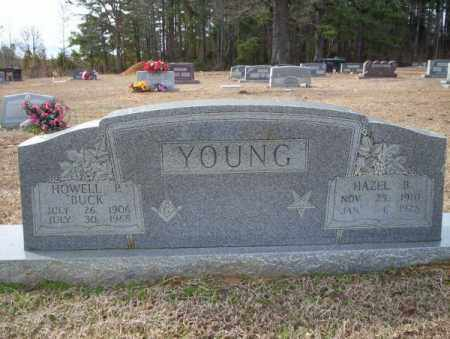 YOUNG, HOWELL P - Columbia County, Arkansas | HOWELL P YOUNG - Arkansas Gravestone Photos