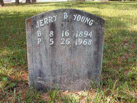 YOUNG, JERRY B - Columbia County, Arkansas | JERRY B YOUNG - Arkansas Gravestone Photos