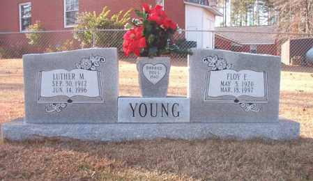 YOUNG, FLOY E - Columbia County, Arkansas | FLOY E YOUNG - Arkansas Gravestone Photos
