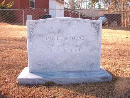 YOUNG, LUTHER N - Columbia County, Arkansas | LUTHER N YOUNG - Arkansas Gravestone Photos