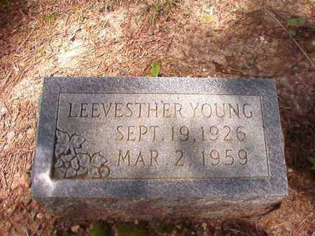 YOUNG, LEEVESTHER - Columbia County, Arkansas | LEEVESTHER YOUNG - Arkansas Gravestone Photos