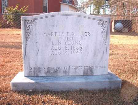 YOUNG, MARTHA E - Columbia County, Arkansas | MARTHA E YOUNG - Arkansas Gravestone Photos