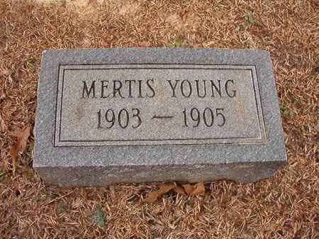 YOUNG, MERTIS - Columbia County, Arkansas | MERTIS YOUNG - Arkansas Gravestone Photos