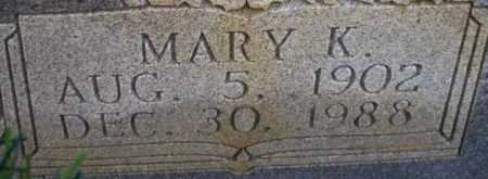 YOUNG, MARY K - Columbia County, Arkansas | MARY K YOUNG - Arkansas Gravestone Photos