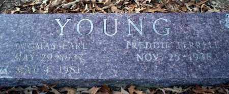 YOUNG, THOMAS EARL - Columbia County, Arkansas | THOMAS EARL YOUNG - Arkansas Gravestone Photos