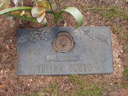 YOUNG, THELMA - Columbia County, Arkansas | THELMA YOUNG - Arkansas Gravestone Photos