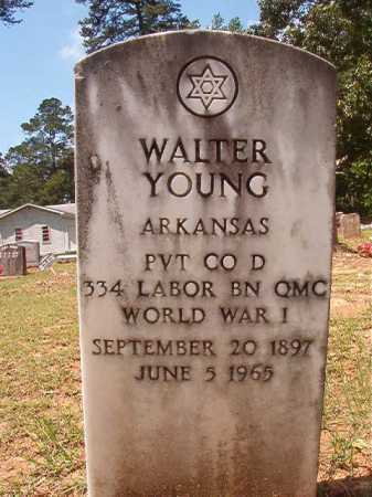 YOUNG (VETERAN WWI), WALTER - Columbia County, Arkansas | WALTER YOUNG (VETERAN WWI) - Arkansas Gravestone Photos