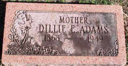 ADAMS, DILLIE E. - Conway County, Arkansas | DILLIE E. ADAMS - Arkansas Gravestone Photos