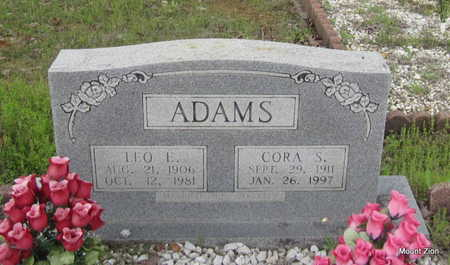 ADAMS, CORA S. - Conway County, Arkansas | CORA S. ADAMS - Arkansas Gravestone Photos