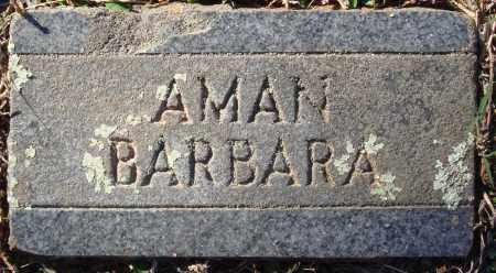 AMAN, BARBARA - Conway County, Arkansas | BARBARA AMAN - Arkansas Gravestone Photos