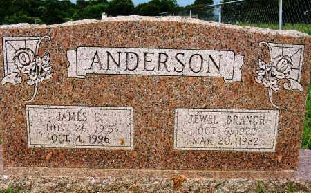 ANDERSON, JAMES C - Conway County, Arkansas | JAMES C ANDERSON - Arkansas Gravestone Photos