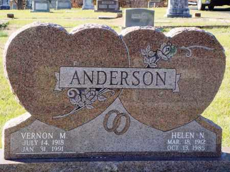 ANDERSON, HELEN NEMA - Conway County, Arkansas | HELEN NEMA ANDERSON - Arkansas Gravestone Photos
